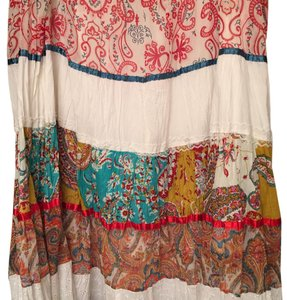 Live A Little Maxi Skirt Multi color
