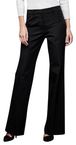Gap New Cotton Blend Flare Pants Black