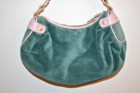 Juicy Couture Velour Girly Cute Hobo Bag Image 1