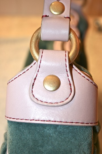 Juicy Couture Velour Girly Cute Hobo Bag Image 3