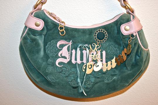 Juicy Couture Velour Girly Cute Hobo Bag Image 5