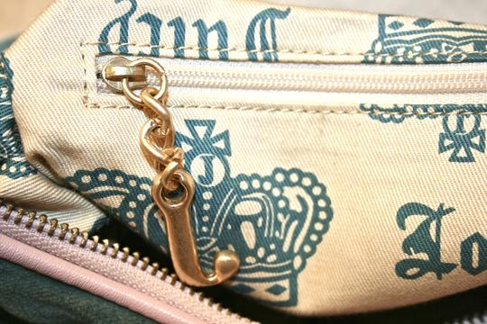 Juicy Couture Velour Girly Cute Hobo Bag Image 8