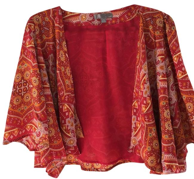 Preload https://img-static.tradesy.com/item/18769225/forever-21-red-yellow-ponchocape-size-12-l-0-1-650-650.jpg