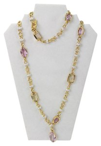 Swarovski Violet Crystal Necklace 40