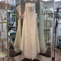 Pronovias Off White Lace and Organza Welcome Modern Wedding Dress Size 14 (L) Image 3