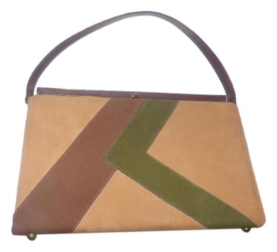 Preload https://img-static.tradesy.com/item/18770182/naturalizer-vintage-designer-pursesdesigner-purses-browns-greens-color-block-faux-suede-and-leather-0-1-540-540.jpg