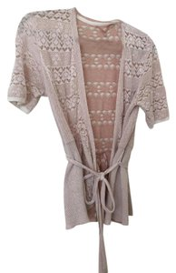 Anthropologie Wrap Peplum Cardigan Sweater