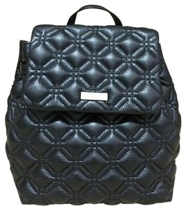 Kate Spade Book Quilted Leather Backpack