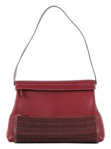 Hermès Hr.k0622.07 Red Togo Leather Shoulder Bag