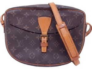 Louis Vuitton Jeune Fille Monogram Brown Cross Body Bag