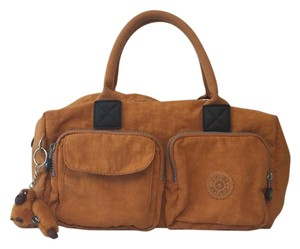 Kipling Satchel in Orange