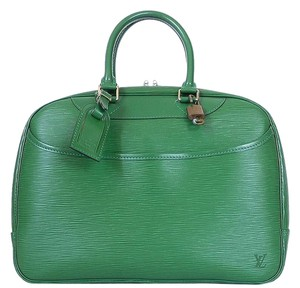 Louis Vuitton Limited Edition Rare Lv Tote in Green