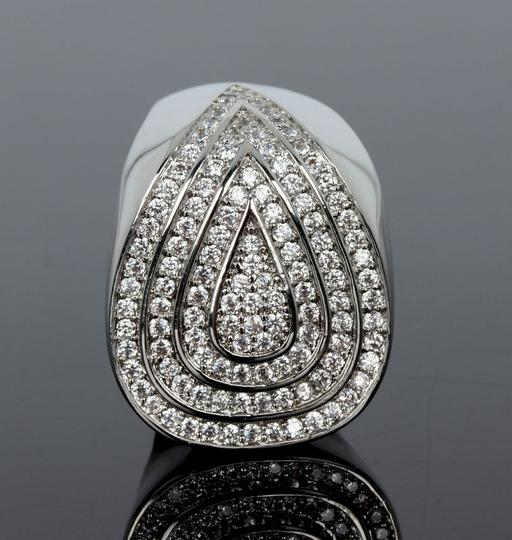 Other CZ Geo Ring [SHIPS NEXT DAY] Image 2