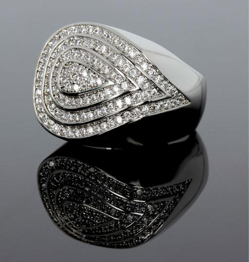Other CZ Geo Ring [SHIPS NEXT DAY] Image 4