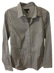 J.Crew Pinstripe Button Down Shirt