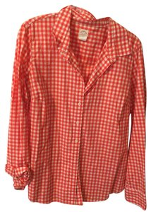 J.Crew Slim Fit Button Down Shirt Red