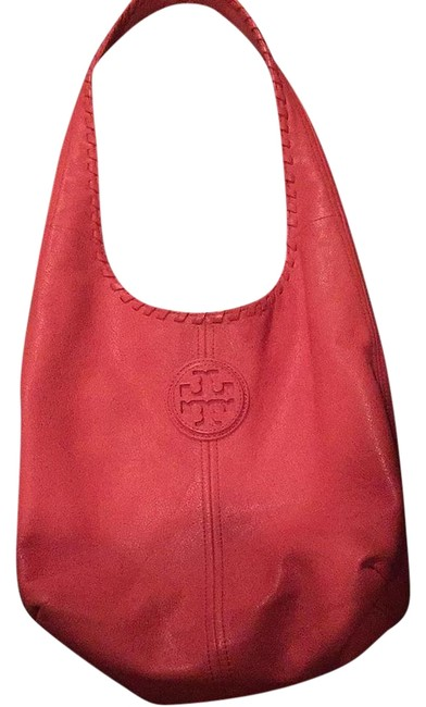 Item - Marion Coral Leather Hobo Bag