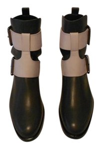 Pierre Hardy Supple Leather Chic Design Brand New Never Worn Made In Italy Cream/Anthracite Boots