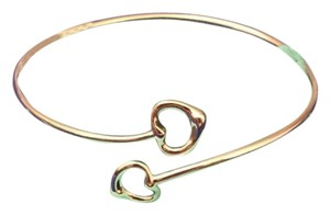 Tiffany & Co. Elsa Peretti Double Open Heart Bangle
