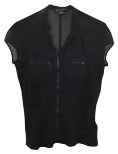 A|X Armani Exchange Ax Xl Top Black