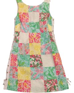Lilly Pulitzer short dress Multi State Patch on Tradesy