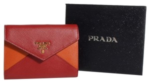 Prada Prada Saffiano Leather Wallet