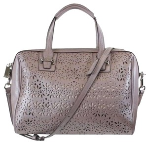 Coach Leather Satchel in Putty