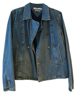 Tommy Hilfiger Jeans Blue Soft Quilted Lining Blue Jean Womens Jean Jacket