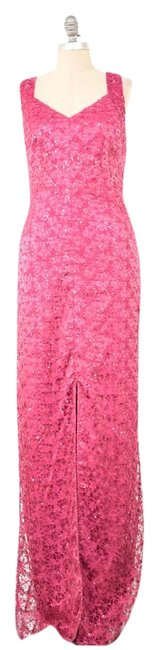 Preload https://img-static.tradesy.com/item/18773266/kay-unger-hot-pink-gown-long-formal-dress-size-8-m-0-1-650-650.jpg