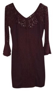Free People short dress Sweater Lace on Tradesy
