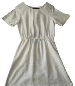 Madewell short dress Cream, off white on Tradesy
