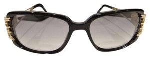 Cazal CAZAL 8005 Sunglasses Black Gold AUTHENTIC New
