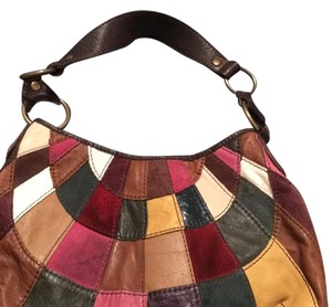 Lucky Brand Patchwork Tote in Multicolor