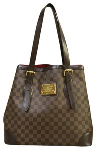Louis Vuitton Lv Damier Canvas Hampstead Gm Shoulder Bag