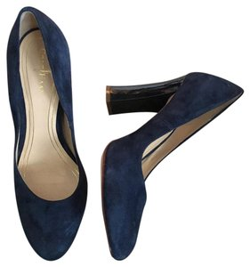 Cole Haan Navy Blue Pumps