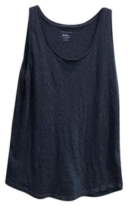 Neiman Marcus Luxury Tee Majestic Paris Top Dark Grey
