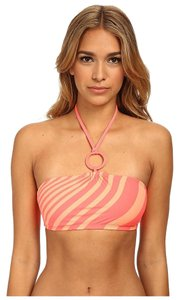 DKNY DKNY Stripe-To-Stripe Halter Bra Top Strie LG (US 12-14)
