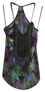 Buffalo David Bitton Fringe Top Multicolor