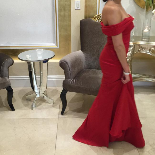 Scarlett Red Gown Dress Image 1