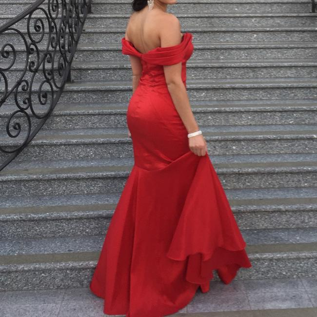 Scarlett Red Gown Dress Image 3