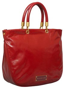 Marc by Marc Jacobs Too Hot To Handle Mini Caberet Red Satchel in Red Cabernet