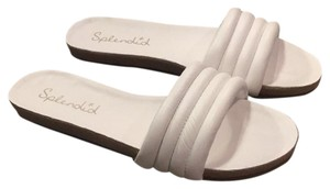 Splendid White Sandals