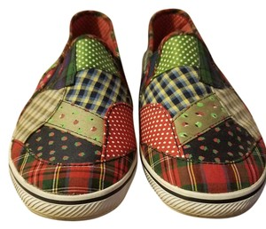 Keds Plaid Fruit multi-colored - red, green, blue Flats