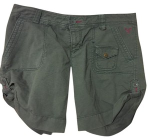 American Eagle Outfitters Cargo Shorts Green