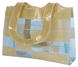 Chanel Rare Tote in Blue, Beige