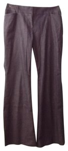 Ann Taylor LOFT Flattering Quality Boot Cut Pants gray