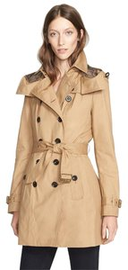 Burberry Brit Trench Brown Classic Iconic Trench Coat