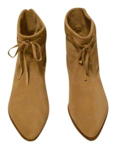 Janet & Janet Stylish Soft Suede Made In Italy Sand Boots