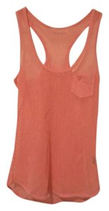 Moda International Holes Sporty Top peach