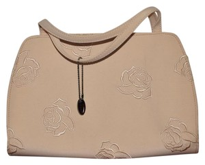 Liz Claiborne Satchel in Cream